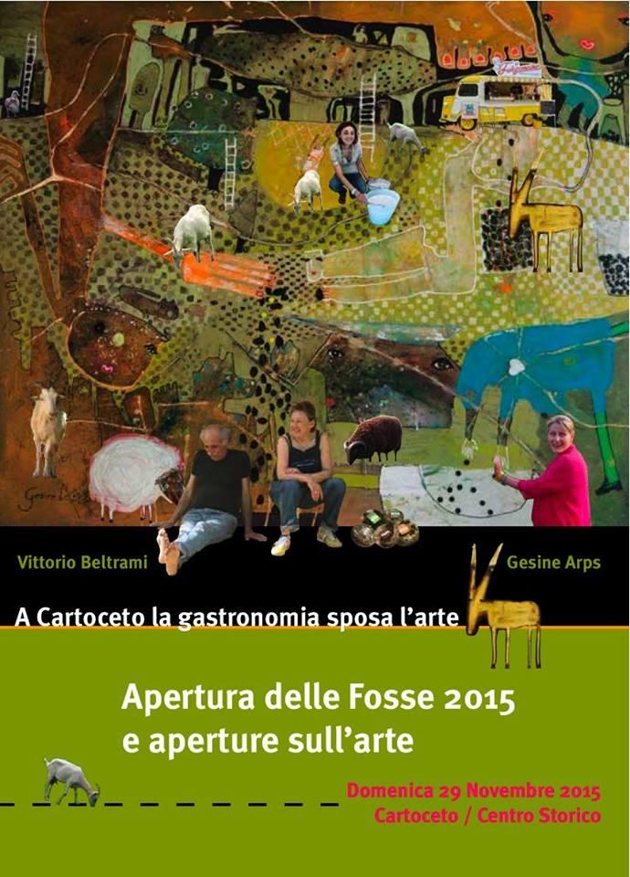 Apertura delle Fosse 2015