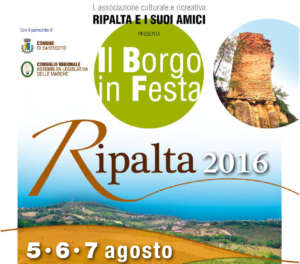 Il Borgo in Festa - Ripalta 2016 - logo